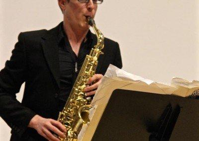Jeremiah Baker - Saxophone